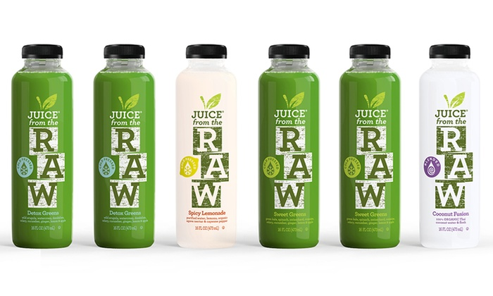 Juice from the raw cleanses juice from the raw groupon juice from the rawup to 54 off three day juice cleanses malvernweather Choice Image