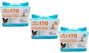 ASPCA Ultra-Absorbent Training Pads (50-, 100-, 150-, or 200-Pack)