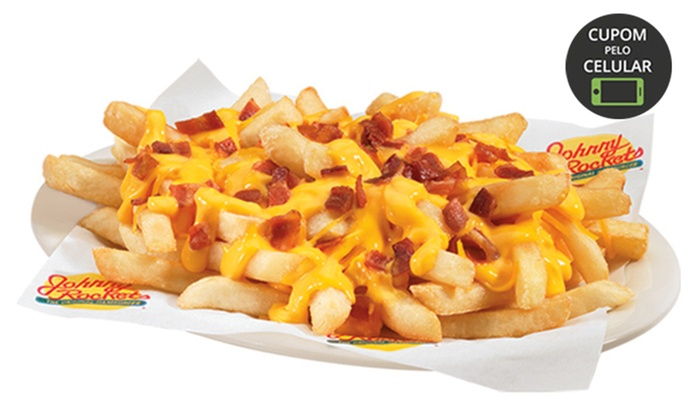 Bacon cheese fries no Johnny Rockets – Flamboyant Shopping Center