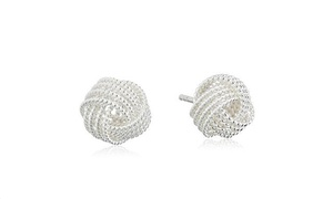 85% Off Sterling-Silver Twisted-Knot Stud Earrings at A-List Finds, plus 6.0% Cash Back from Ebates.