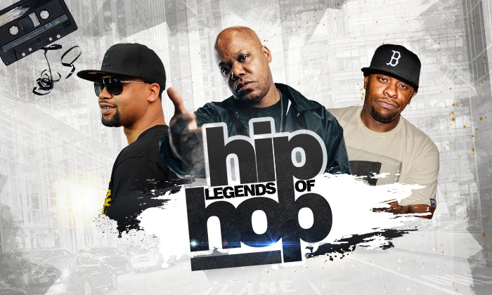 Legends of Hip Hop feat  Juvenile, Mystikal, Scarface, and More on Friday,  April 26, at 8 p m