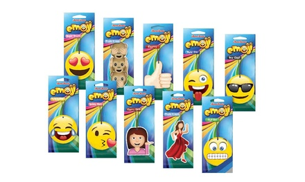 Six £4.99, Twelve £8.99 or TwentyFour £16.99 Emoji Car Air Fresheners