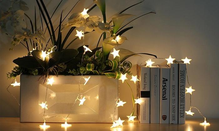 guirlande lumineuse piles groupon shopping. Black Bedroom Furniture Sets. Home Design Ideas