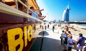 Big Bus Tours: Big Bus Hop on Hop Off Classic 1 Day ticket Plus Desert Sunset Adventure from Big Bus Tours Dubai (Up to 31% Off)