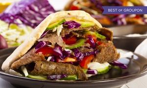 Kebab Al Baraka: Dowolny zestaw kabab/gyros lub tortilla od 8,99 zł w barze Kebab Al Baraka (do -42%)