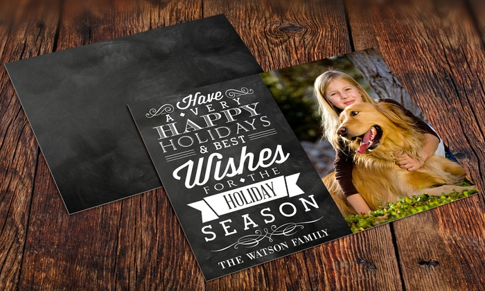 Fabness: Custom Holiday Cards (Up to 86% Off).