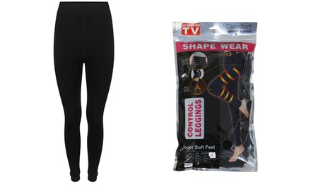 Thermal Shapewear Leggings TwoPack