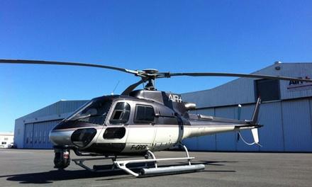 Vol de 15 ou 30 min pour 1 ou 2 personnes dès 79,90 € avec Air Plus Hélicoptères Toulouse