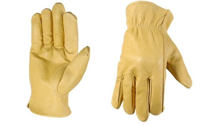 Wells Lamont Full Grain Pigskin Leather Work Gloves Groupon