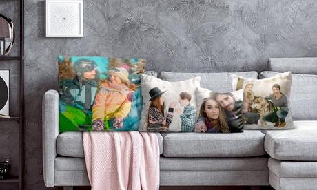 Cojín Normal o Premium con foto personalizable, acabado en brillo o mate tamaño desde 5,99 € con Photo Gift