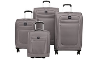 Skyway Langford 4 Piece Expandable Luggage Set with Underseat Bag