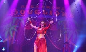 Cirque Bouglione: 1 place en gradin, loges ou carré or pour le Cirque Bouglione, dates au choix à Courcelles dès 10 €
