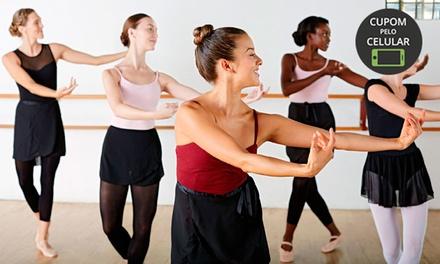 Ballet Nayana Rick – São Pedro: 1, 3 ou 6 meses de aula de balé infantil ou adulto ou de sapateado