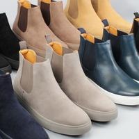 Harrison Mens Casual Chelsea Boots Deals