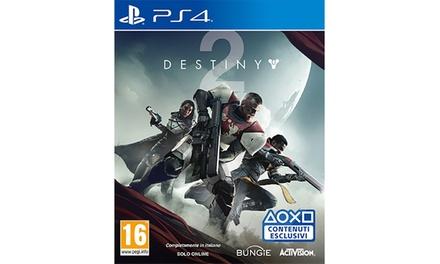 Destiny 2 Activision per Playstation 4 in italiano