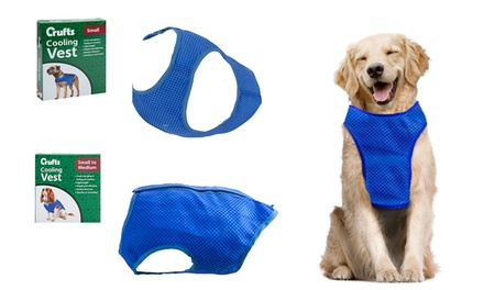 One or Two Crufts Pet Cooling Vests