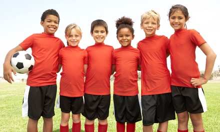 Half- or Full-Day Soccer Camp at United Kingdom Soccer Academy (Up to 51% Off)