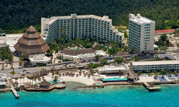 All-Incls. Grand Park Royal Cozumel Trip w/Air from Vacation Ex
