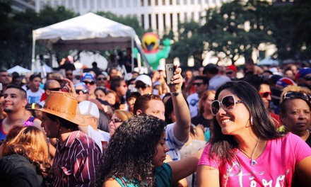 General or VIP Admission to Puerto Rican & Cuban Festival at MidTown Park (Up to 51% Off). 5 Options Available.