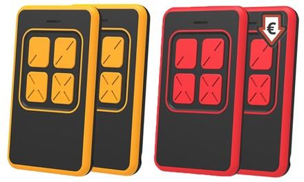 1, 2 o 4 mandos a distancia universales para puertas de garaje disponible en 2 colores desde 6,99 € (hasta 85% de dto)