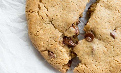 image for Cookies and Food Items at T-Rex Cookie Cafe (Up to 40% Off). Three Options Available.