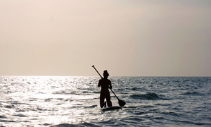 Malibu Paddle Surf: Standup-Paddleboard Rental or Lesson for One, Two, or Four at Malibu Paddle Surf in Santa Monica (Up to 65% Off)
