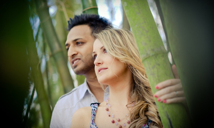 St. Pierre Photography - Owings Mills: One-Hour Photo Package or Three-Hour Engagement Photo Package from St. Pierre Photography (84% Off)