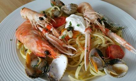 Menu «italien» avec entrée, plat et dessert au choix pour 1, 2 ou 4 personnes dès 19,90 € au Restaurant Pizzeria Da Melo