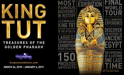 Up to 20% Off King Tut: Treasures of the Golden Pharaoh