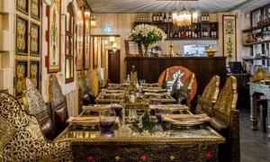 Restaurant Arabesque: Arabisches 3-Gänge-Menü für 2 oder 4 Personen im Restaurant Arabesque (bis zu 59% sparen*)
