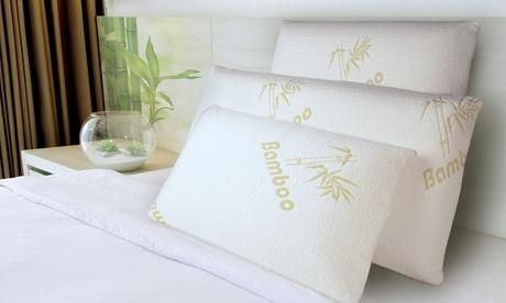 1, 2 o 4 almohadas de espuma viscoelásticaBamboo