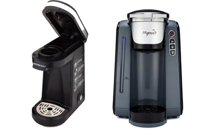 Brookstone Coffee Maker For One : Mixpresso Single-Serve Coffee Cup Brewers Groupon