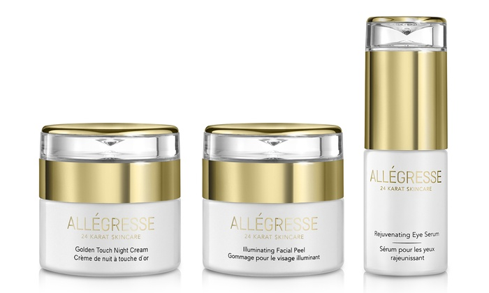 Allegresse 24K Gold Goldwen Touch Night Cream - 1.7 oz (Size : 1.7 oz) Spot Treatment 3 Photon Light Heat Therapy Pimple Acne Removal Remover Pen