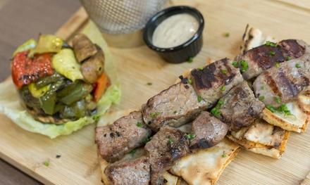 Menú para 2 o 4 con entrante o ensalada, principal, postre y bebida desde 16,95 € en BBQ House