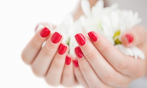 Polished Beauty Artistry: Mini Pedi with Acrylic or Bio Sculpture from R79 for One with Optional Mani at Polished Beauty Artistry (Up to 61% Off)