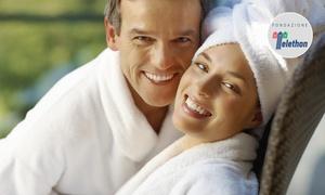 Piripire Fitness e Welness: Percorso Spa di coppia con aperitivo e massaggio in opzione da Piripire Fitness e Welness (sconto fino a 73%)