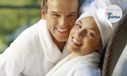 Spa di coppia, aperitivo e massaggio