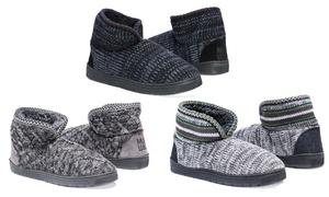 MUK LUKS Mark Men's Knit Slippers (Size S)