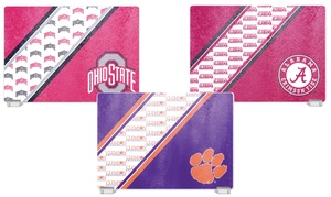 NCAA Tempered Glass Cutting Boards