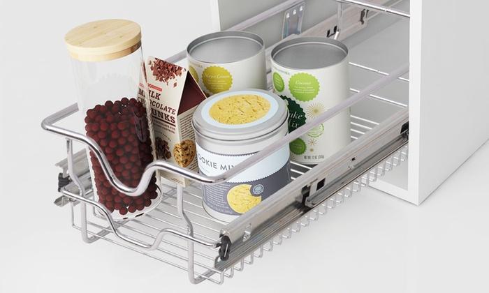 2 Korbauszüge für Küchenschränke | Groupon