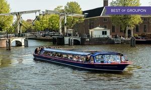 Blue Boat Company: Amsterdam: ontdek de prachtige en historische hoofdstad met een rondvaart van 75 minuten met Blue Boat Canal Cruises