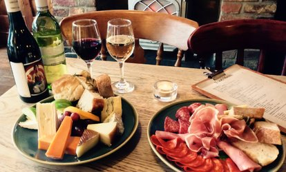 image for Choice of Sharing Platter with a Glass of Wine for Two or Four at The Pennyweight (Up to 47% Off)