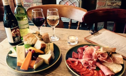 Sharing Platter with Wine