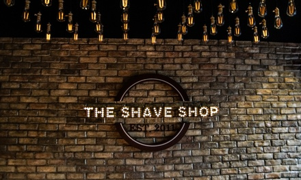 Hair and Beard Grooming Package at The Shave Shop (Up to 55% Off)