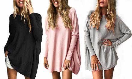 1 o 2 jerseys oversize largos de mujer