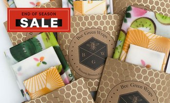 Beeswax Reusable Food Cover Wraps