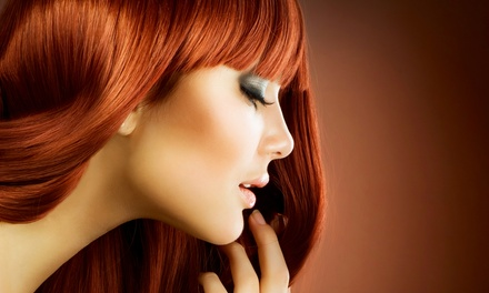 Haircut Package, Single-Process Color Package, or Partial-Highlight Package at Haruo Noro Salon (Up to 64% Off)