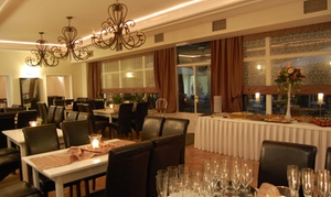 Restauracja La Fontaine Gdańsk: Kuchnia polska i międzynarodowa: uczta dla dwojga od 59,99 zł w Restauracji La Fontaine w Gdańsku