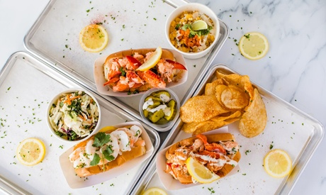 Dine In or Carry Out Seafood at The Dock (Up to 30% Off). Two Options Available.