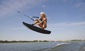 Hangar 9 Wake Park: Wakeboard Rental and Two-Hour Pass for One, Two, or Four at Hangar 9 Wake Park (Up to 55% Off)